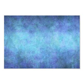 カラフルで青い紫色の水彩画の紙の背景 8.9 X 12.7 インビテーションカード