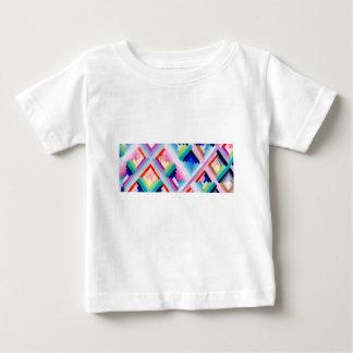 カラフルなおもしろいのデザイン ベビーTシャツ