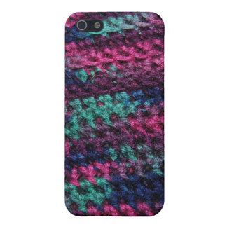 カラフルなかぎ針編み iPhone 5 カバー