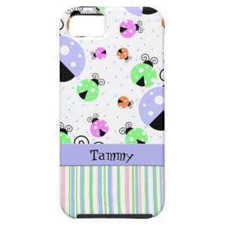カラフルなてんとう虫のiPhone 5の箱 iPhone SE/5/5s ケース