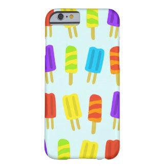 カラフルなアイスキャンデーパターン電話箱 BARELY THERE iPhone 6 ケース