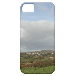 カラフルなアイルランドの村場面 iPhone SE/5/5s ケース