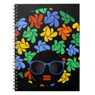 カラフルなアフリカ愛 ノートブック