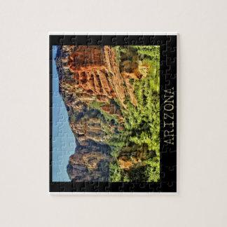 カラフルなアリゾナの景色のパズル ジグソーパズル