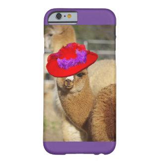 カラフルなアルパカのiPhone6ケース Barely There iPhone 6 ケース