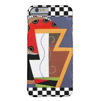 カラフルなアール・デコのデザインIの電話6箱 BARELY THERE iPhone 6 ケース