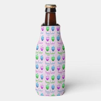 カラフルなイースターエッグパターン ボトルクーラー