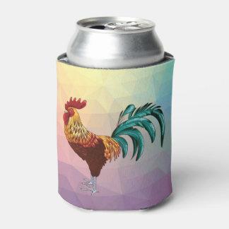 カラフルなオンドリ 缶クーラー