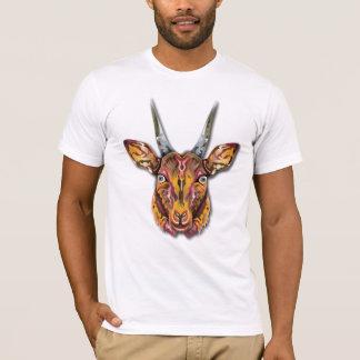 カラフルなカモシカ Tシャツ