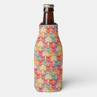 カラフルなキツネのボトルCoozy ボトルクーラー