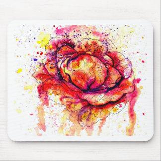 カラフルなキャベツWatercolor2 マウスパッド