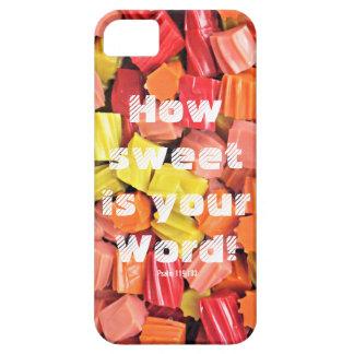 カラフルなキャンデーの写真の電話箱 iPhone SE/5/5s ケース