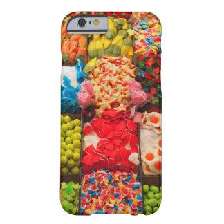 カラフルなキャンデーの甘い店のiPhone6ケース Barely There iPhone 6 ケース