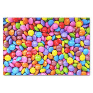 カラフルなキャンデーは写真を個人化します 薄葉紙