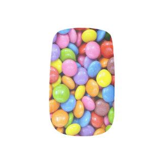 カラフルなキャンデー ネイルステッカー