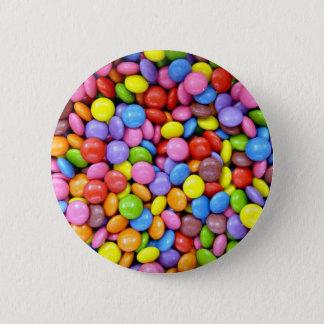 カラフルなキャンデー 5.7CM 丸型バッジ