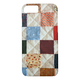 カラフルなキルトパターンiPhone 7の箱 iPhone 8/7ケース