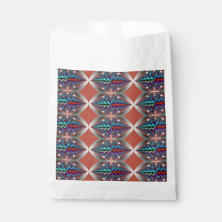 カラフルなクロム目の抽象芸術 フェイバーバッグ