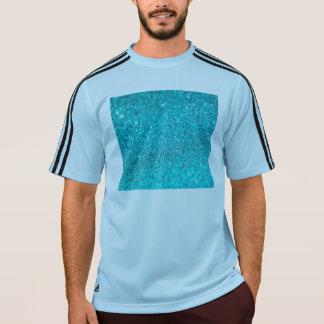 カラフルなグリッターの光沢があるダイヤモンド Tシャツ