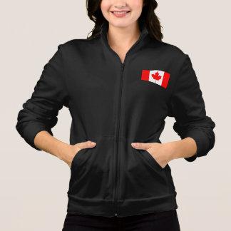 カラフルなコントラストのカナダ人の旗