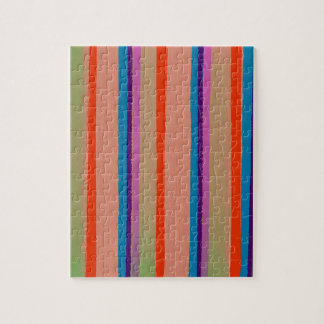カラフルなサーカスのピエロは縞で飾ります ジグソーパズル