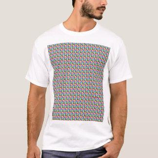 カラフルなスカル Tシャツ