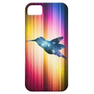 カラフルなスペクトルのハチドリ iPhone SE/5/5s ケース