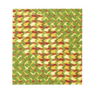 カラフルなスペクトルの治療のセラピーの低価格のギフト ノートパッド