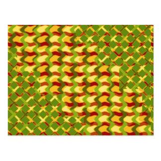 カラフルなスペクトルの治療のセラピーの低価格のギフト ポストカード