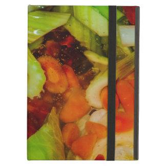 カラフルなスープ抽象的概念 iPad AIRケース