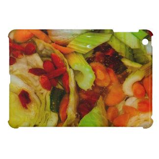 カラフルなスープ抽象的概念 iPad MINIケース