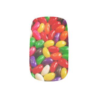 カラフルなゼリー菓子キャンデーのminxのネイル ネイルアート