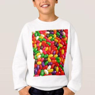 カラフルなゼリー菓子キャンデー スウェットシャツ