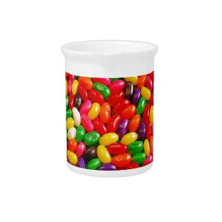カラフルなゼリー菓子キャンデー ピッチャー