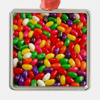 カラフルなゼリー菓子キャンデー メタルオーナメント