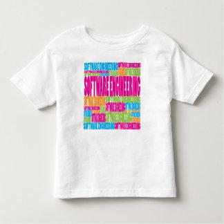 カラフルなソフトウェアエンジニア トドラーTシャツ