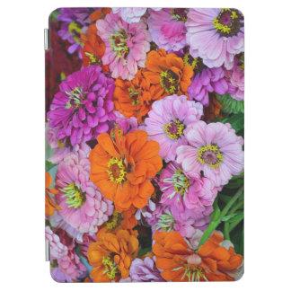 カラフルなダリアの花柄 iPad AIR カバー