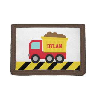 カラフルなダンプトラック、建築車、男の子