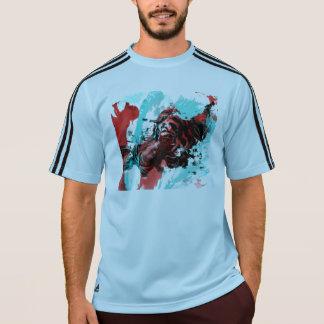 カラフルなトラ動物 Tシャツ