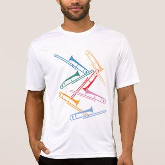 カラフルなトロンボーン Tシャツ