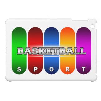 カラフルなバスケットボールのiPad Miniケース iPad Miniカバー