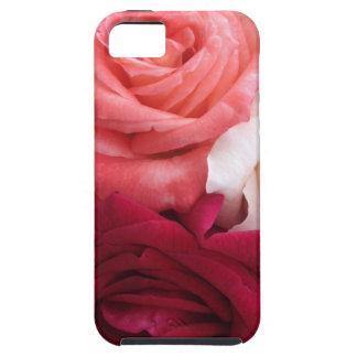 カラフルなバラのコレクション iPhone SE/5/5s ケース