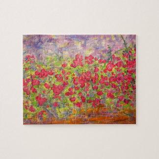 カラフルなバラの咲くこと ジグソーパズル