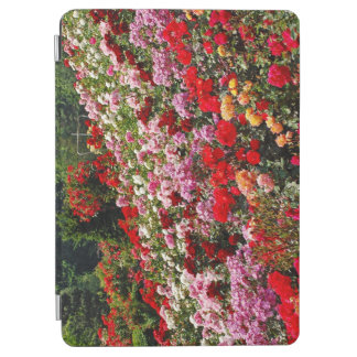 カラフルなバラ園 iPad AIR カバー
