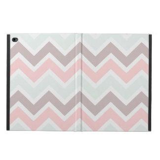 カラフルなパステル調のシェブロン POWIS iPad AIR 2 ケース