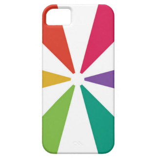 カラフルなパターン6色 iPhone SE/5/5s ケース