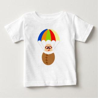 カラフルなパラシュートはTシャツをからかいます ベビーTシャツ