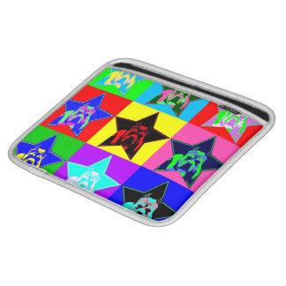 カラフルなピット・ブルIのパッドの箱の細い保護 iPad 用スリーブ
