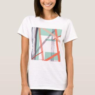 カラフルなブロック Tシャツ