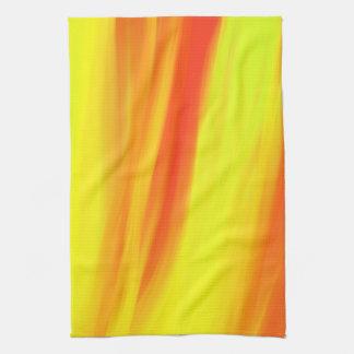 カラフルなペンキの虹2 キッチンタオル